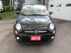2012 Fiat 500 Sport Coupe (2 door) Kawartha Lakes Peterborough Area image 2