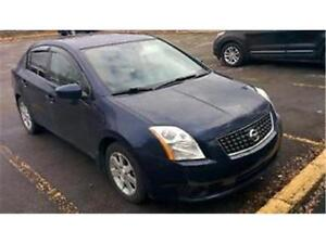 2007 NISSAN SENTRA AUTOMATIQUE CLIMATISEE 4 CYLINDRES