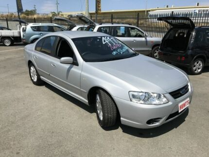 2007 Ford Falcon BF MkII 07 Upgrade Futura Silver 4 Speed Auto Seq Sportshift Sedan Coopers Plains Brisbane South West Preview