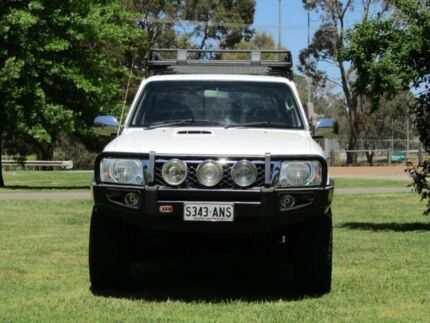 2009 Nissan Patrol GU 6 MY08 DX White 5 Speed Manual Wagon Hahndorf Mount Barker Area Preview
