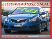 2012 Holden Cruze JH MY13 CD Equipe Blue 6 Speed Automatic Hatchback Homebush Strathfield Area Preview
