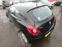 Vauxhall Corsa D Passengers Door in Black 3 Door Model 2007 - 2014 Ring for more info