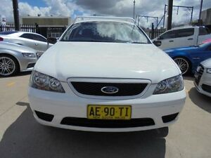 2005 Ford Falcon BA Mk II RTV White 4 Speed Automatic 2D Cab Chassis Holroyd Parramatta Area Preview