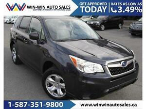 2015 Subaru Forester 2.5i MONTH END SPECIAL