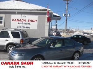 2012 Ford Fusion SEL,AUTO,AC,118 KM,12 M WRTY,SAFETY,$7400