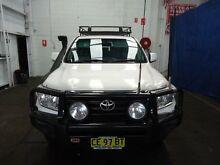 2009 Toyota Landcruiser  White 6 Speed Automatic Wagon Cardiff Lake Macquarie Area Preview