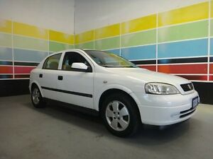 2003 Holden Astra TS CD White 4 Speed Automatic Hatchback Wangara Wanneroo Area Preview