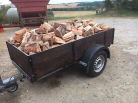 Quality Seasoned Firewood Softwood Logs delivered, Mobile Firewood Processing Service available