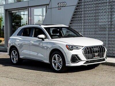 2020 Audi Q3 2.0T Premium 2020 Audi Q3 2.0T Premium 8-Speed Automatic with Tiptronic 3456 Miles Glacier Wh