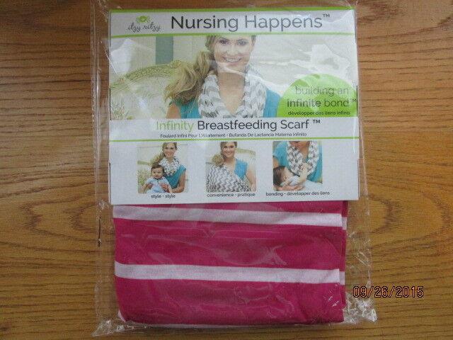 NEW MOM INFINITY BREASTBEEDING SCARF NURSING HAPPENS STYLISH SCARF ITZY RITZY