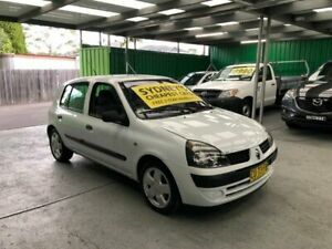 2003 Renault Clio B65 Phase 2 Expression White Automatic Hatchback Croydon Burwood Area Preview