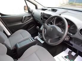 Peugeot Partner 716 S 1.6HDI 92ps Crew Van DIESEL MANUAL WHITE (2015)