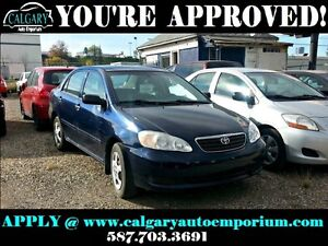 2008 Toyota Corolla EVERYONE APPROVED Drive away Today!!!