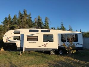 2014 Springdale Fifth wheel with bunkhouse