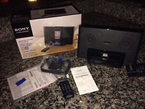 SONY Like-New Soundsystem w. Alarm Clock -GREAT SOUND!!!
