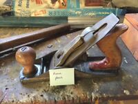 Vintage wood-working tools - either workable or collectibles - 1940's