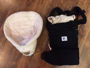 BABY CARRIER AND DIAPER BAG