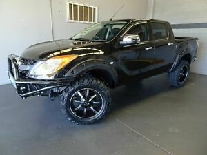 2014 Mazda BT-50 MY13 XTR (4x4) Black 6 Speed Automatic Dual Cab Utility Woodridge Logan Area Preview