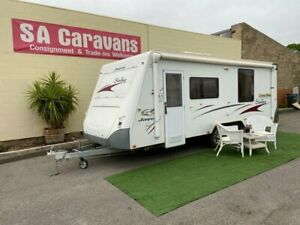2008 JAYCO STERLING 21' with SLIDE OUT BEDROOM Klemzig Port Adelaide Area Preview