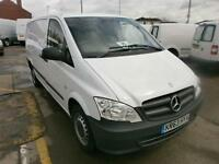 Mercedes-Benz Vito 113 Long Cdi DIESEL MANUAL WHITE (2013)