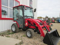 New 25hp Mahindra 4wd Diesel with loader