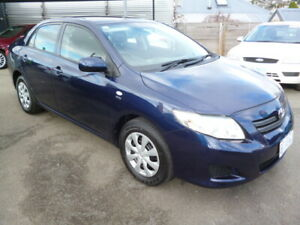2007 Toyota Corolla ASCENT New Town Hobart City Preview