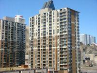 Super vue 19e étage, DT Montreal, condo 4 1/2
