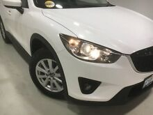 2013 Mazda CX-5 KE1021 MY13 Maxx SKYACTIV-Drive AWD Sport White 6 Speed Sports Automatic Wagon Edgewater Joondalup Area Preview