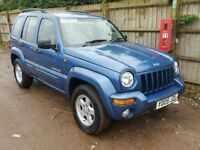 JEEP CHEROKEE LIMITED 3.7 V6 AUTOMATIC EDITION 4X4 JEEP, STARTS AND DRIVES, SPARES OR REPAIR PROJECT