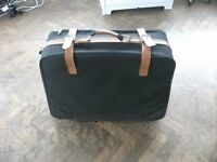 Suitcase for sale . Size : H=63cm , W=68cm-78cm , D=13cm.