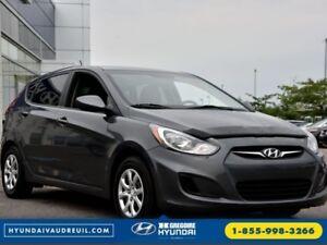 2013 Hyundai Accent L USB/MP3/AUX BAS KM'S Garantie Complete