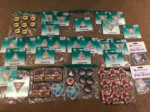Girl Scout Lot 50+ Badges and Patches