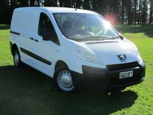 2010 Peugeot Expert G9P L1 Low Roof SWB White 6 Speed Manual Van Gepps Cross Port Adelaide Area Preview