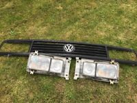 VW T25 Grill and Square Headlight set