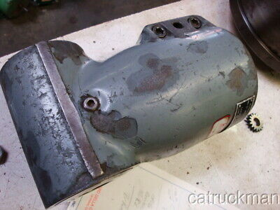 Right Angle Bridgport Head W R-8 Drive In Out For J Or 2j Milling Machine