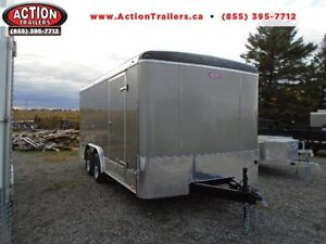 2017 8X16 ATLAS! - THE PERFECT ENCLOSED CONSTRUCTION TRAILER!