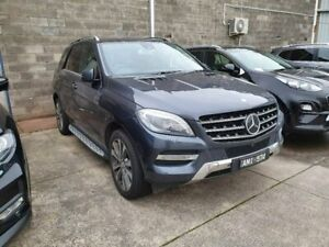 2013 Mercedes-Benz ML350 W166 BlueTEC 7G-Tronic + Grey 7 Speed Sports Automatic Wagon Dandenong Greater Dandenong Preview