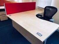 OFFICE FURNITURE WITH EXTRAS - JOB LOT