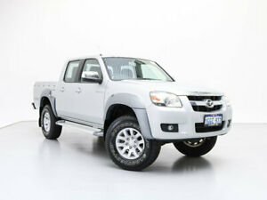 2008 Mazda BT-50 08 Upgrade B3000 SDX (4x4) Silver 5 Speed Manual Dual Cab Pick-up