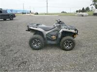 2013 CAN AM OUTLANDER 650 XT WITH 3200 KMS! $7595!!