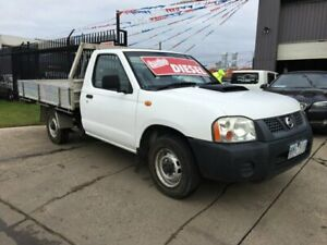 2008 Nissan Navara D22 MY08 DX (4x2) White 5 Speed Manual Cab Chassis Brooklyn Brimbank Area Preview