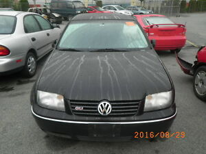 VW 2005 Jetta GLI 1.8T tip auto (PARTS ONLY)