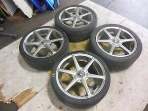 Subaru 5x100 Wheels Zeit SS
