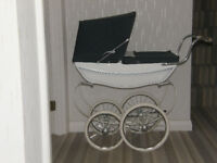 Dolls Pram Beautiful Silver Cross Coachbuilt Carriage Body