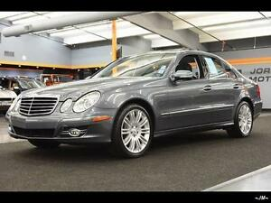 2008 MERCEDES BENZ E300 4MATIC NAVIGATION