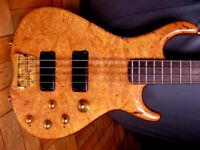 goodfellow bass guitar, gb bass handmade.