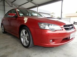 2004 Subaru Liberty MY04 GT Premium Red 5 Speed Electronic Sportshift Sedan Pooraka Salisbury Area Preview