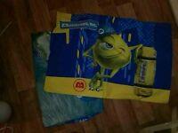 Monster Inc Single duvet and pillow cases Exeter