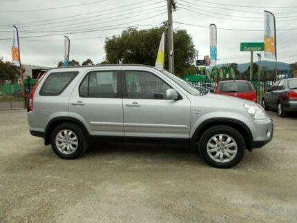 2004 Honda CR-V RD MY2005 Sport 4WD Silver 5 Speed Automatic Wagon Bayswater North Maroondah Area Preview