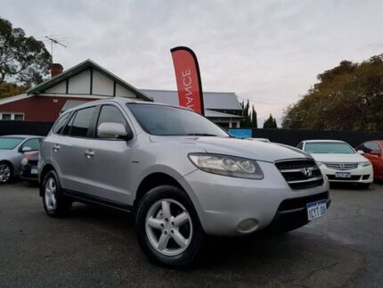 2008 Hyundai Santa Fe CM MY09 Upgrade SX CRDi (4x4) Silver 5 Speed Automatic Wagon Mount Hawthorn Vincent Area Preview